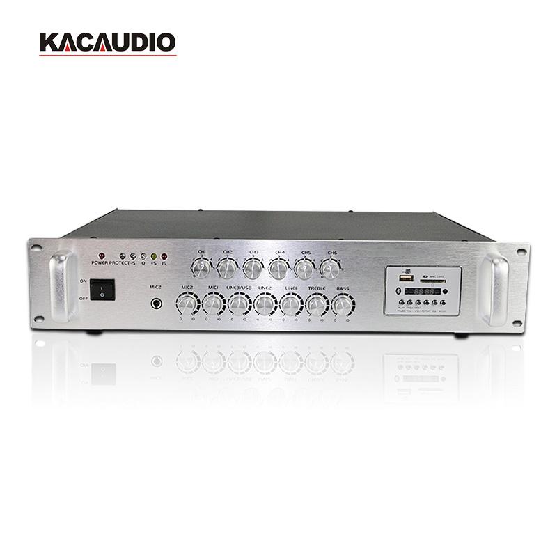 Amply chia 6 vùng KAC Audio PA-5250USBD
